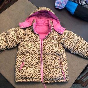 Kids Ski Jacket. Size 10/12. Reversible colors